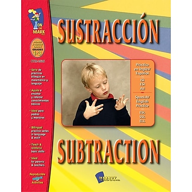 A Bilingual Skill Building Workbook: Sustraccion/Subtraction, Grades 1-3