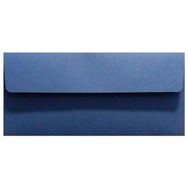LUX Peel & Press #10 Square Flap Invitation Envelopes (4 1/8 x 9 1/2) 1000/Box, Navy Blue (LUX-4860-103-10)