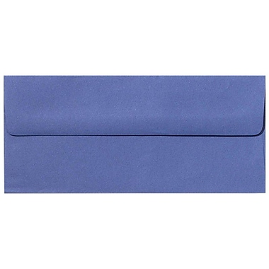 LUX Peel & Press #10 Square Flap Envelopes (4 1/8 x 9 1/2) 500/Box, Boardwalk Blue (EX4860-23-500)