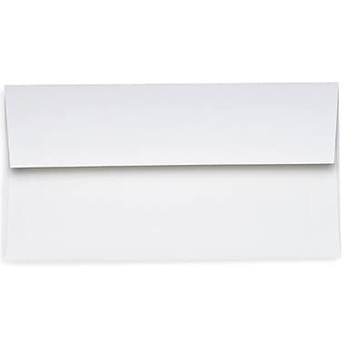 LUX Slimline Invitation Envelopes (3 7/8 x 8 7/8) 250/Box, 24lb. Bright White (72973-250)