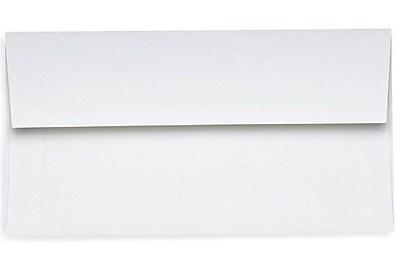 LUX Slimline Invitation Envelopes (3 7/8 x 8 7/8) 500/Box, 24lb. Bright White (72973-500)