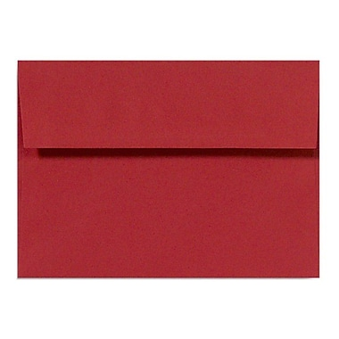 LUX A10 Invitation Envelopes (6 x 9 1/2) 500/Box, Holiday Red (67153-500)