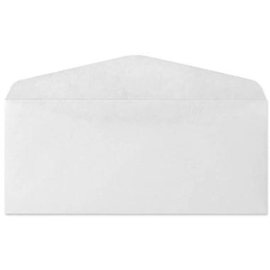 LUX Moistenable Glue #9 Regular Envelopes (3 7/8 x 8 7/8) 500/Box, White (57883-500)