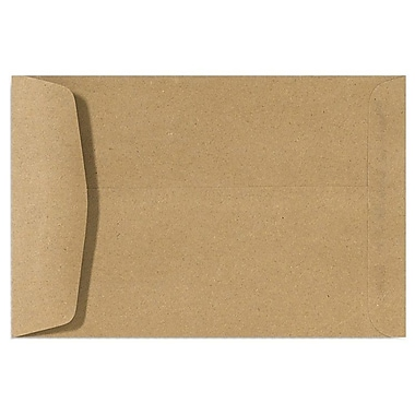 LUX 10 x 13 Open End Envelopes 500/Box, Grocery Bag (4897-GB-500)