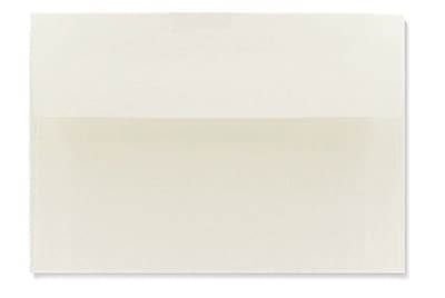 LUX A2 (4 3/8 x 5 3/4) 250/Box, Natural White - 100% Cotton (4870-SN-250)