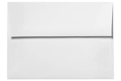 LUX A1 Invitation Envelopes (3 5/8 x 5 1/8) 250/Box, White - 100% Recycled (4865-WPC-250)