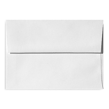 LUX A1 Invitation Envelopes (3 5/8 x 5 1/8) 1000/Box, White Linen (4865-WLI-1000)