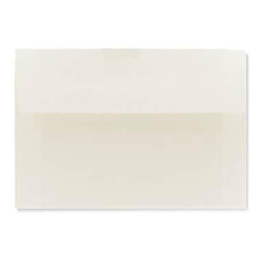 LUX A1 Invitation Envelopes (3 5/8 x 5 1/8) 1000/Box, Natural White - 100% Cotton (4865-SN-1000)