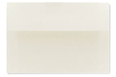 LUX A1 Invitation Envelopes (3 5/8 x 5 1/8) 250/Box, Natural White - 100% Cotton (4865-SN-250)