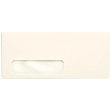 LUX Moistenable Glue #10 Window Envelopes (4 1/8 x 9 1/2), Natural, 1000/Box (4561-01-1000)