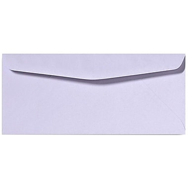 LUX Moistenable Glue #10 Regular Envelopes (4 1/8 x 9 1/2) 500/Box, Orchid (28791-500)