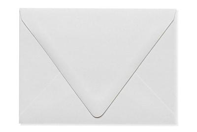 LUX A6 Contour Flap Envelopes (4 3/4 x 6 1/2) 500/Box, White - 100% Recycled (1875-WPC-500)