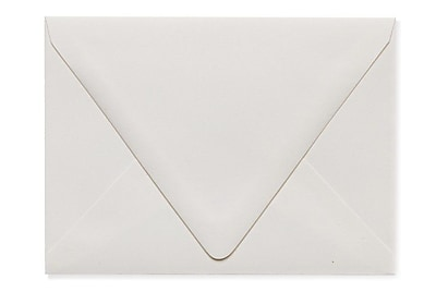 LUX A6 Contour Flap Envelopes (4 3/4 x 6 1/2) 1000/Box, Natural - 100% Recycled (1875-NPC-1000)