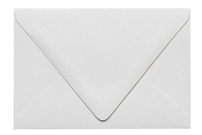LUX A4 Contour Flap Envelopes (4 1/4 x 6 1/4) 250/Box, White - 100% Recycled (1872-WPC-250)