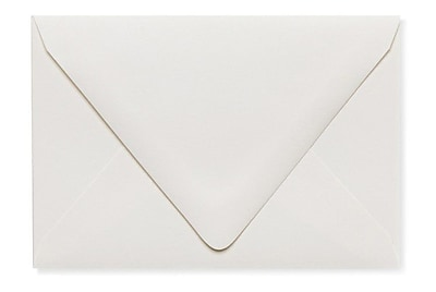 LUX A1 Contour Flap Envelopes (3 5/8 x 5 1/8) 500/Box, Natural - 100% Recycled (1865-NPC-500)