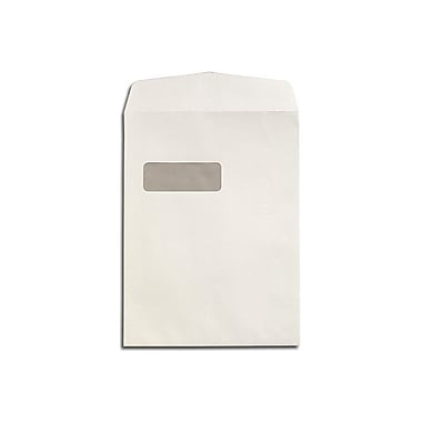 LUX 9 x 12 Open End Window Envelopes 50/Box, 28lb. Bright White (1590-50)