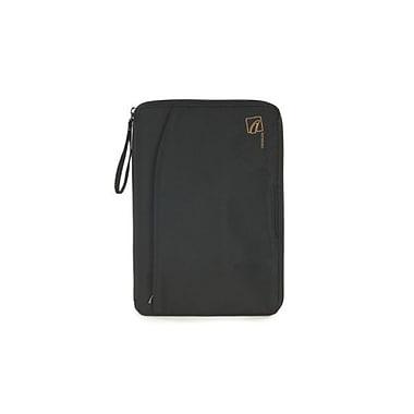 Tucano – Étui folio en nylon Navigo pour tablette de 7 po, noir