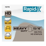 "Esselte® Rapid® 15/16"" x 1/2"" Heavy-Duty Staples, 1,000/Box"
