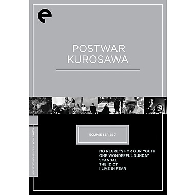 Postwar Kurosawa: Eclipse Series 7 (DVD)