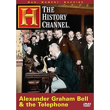 Man, Moment, Machine: Alexander Graham Bell & Telephone (DVD)