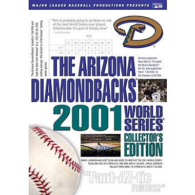 The Arizona Diamondbacks 2001 World Series (DVD)
