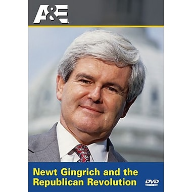 Investigative Reports: Newt Gingrich and The Republican Revolution (DVD)