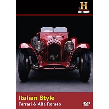 Italian Style: Ferrari & Alfa Romeo (DVD)
