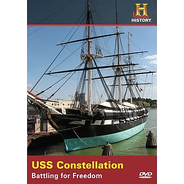 Time Machine: USS Constellation: Battling for Freedom (DVD)