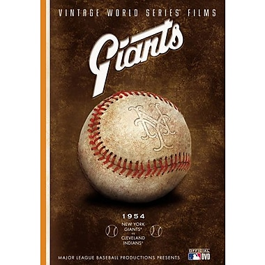 New York Giants Vintage World Series Film (DVD)