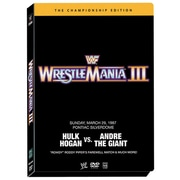 WWE: Wrestlemania III: The Championship Edition (DVD)