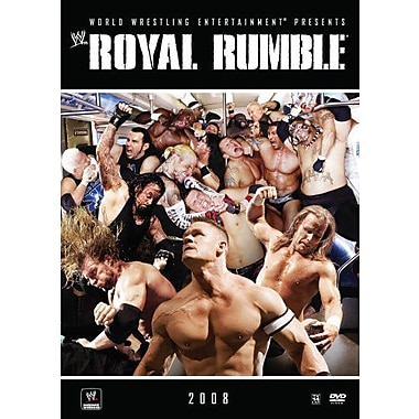 WWE: Royal Rumble: New York, NY: January 27, 2008 PPV (DVD)