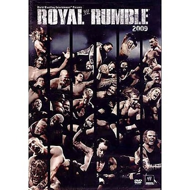 WWE: Royal Rumble: Detroit, MI: January 25, 2009 PPV (DVD)