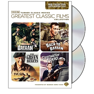 TCM Greatest Classic Flims: War- Battlefront Asia (DVD)