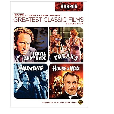 TCM Greatest Classic Films: Horror (DVD)