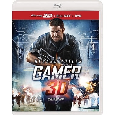 Gamer (3D BRD + BRD + DVD)