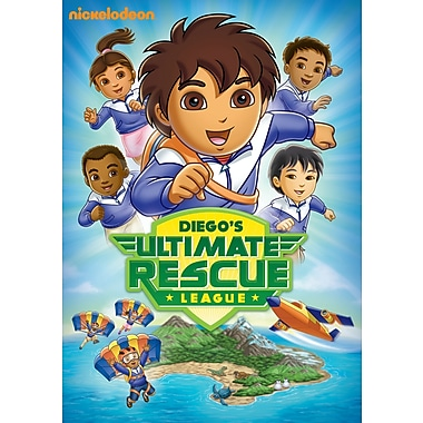 Go, Diego, Go!: Diego's Ultimate Rescue League (DVD)