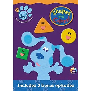 Blue's Clues: Shapes and Colors (DVD)