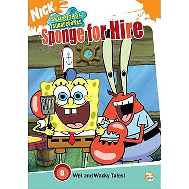 SpongeBob SquarePants: Sponge For Hire (DVD)