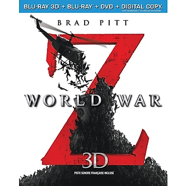 World War Z 3D (Blu-Ray)