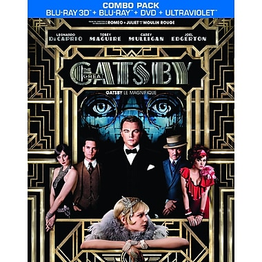 The Great Gatsby 3D (2013) (Blu-Ray)