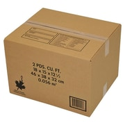 "Crownhill 18"" x 15"" x 12-1/2"" Shipping Boxes, Brown, 10/Pack"