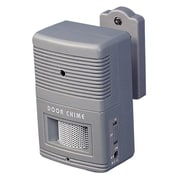 Tatco® Visitor Chime Audible Security Alarm, Grey