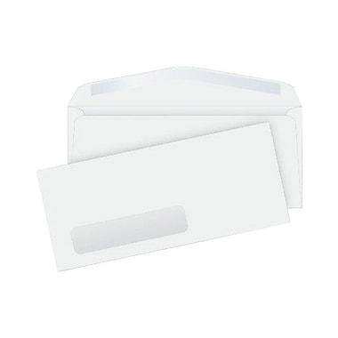 Quality ParkMD – Enveloppes à fenêtre laser/jet d'encre n° 10 (4 1/8 x 9 1/2), blanc, bte/500