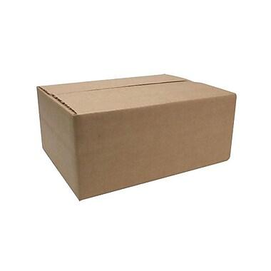 SparcoMC – Boîtes de carton d'expédition ondulées, 4 4/5 x 11 4/5 x 8 4/5 po, papier Kraft, 25/paq.