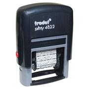 Trodat® - Tampon auto-encreur Dial-A-Phrase, anglais