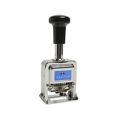 Sparco™ 7-Wheel Automatic Numbering Self-Inking Stamp