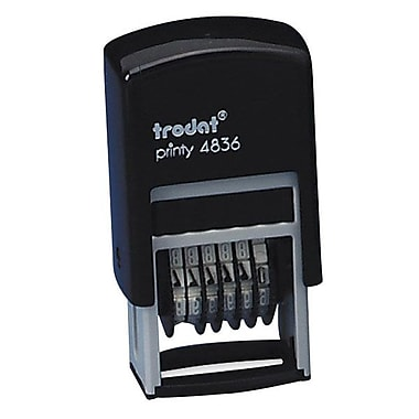 Trodat® 6-Band Printy Numbering Self-Inking Stamp