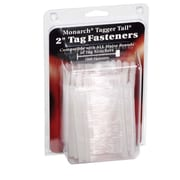 "Monarch® 2"" Tagger Tail Fasteners, Clear, 1,000/Pack"