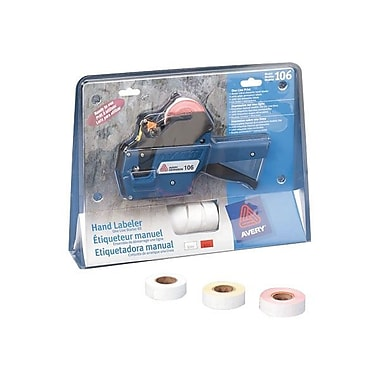 Avery® 1-Line Hand Pricemarker/Labeller Starter Kit