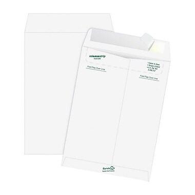 Quality ParkMD – Enveloppes à ouverture au bout, 10 x 15 po, blanc, boîte/100